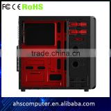 Big size SPCC structure can be competible with ATX Mini -ITX Micro ATX gaming oc cabinet                                                                         Quality Choice