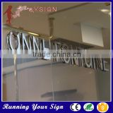 Waterproof without light Effect custom brand name sign