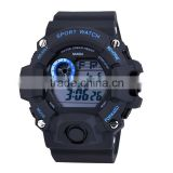 2016 Factory Price Plastic Chronagraph Watches With Digital Wholesale Military New Sport Watch For Men