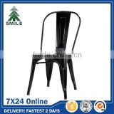 Cheap Metal Chairs Stackable Bar Bistro Steel Chairs For Sale