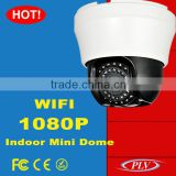 plastic high speed dome ptz ip camera poe wifi wireless audio input and output