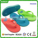 High Quality Colorful Branded Slipper Plain Rubber Flip Flops for Kids