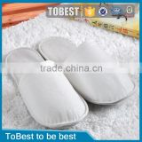 ToBest Hotel disposable supplies wholesale white cheapest hotel non woven slippers