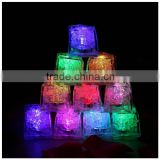 High quality 12pcs/lot Led Light Ice Cubes novelty party Sparkling Light Ice Slow Blinking Flashing long time