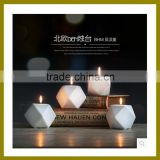 Fashion style 2016 new arravial high quality ceramic candle holders with cheap price                                                                                                         Supplier's Choice