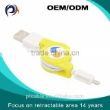 Selling well all over the world high speed elastic usb to retractable micro usb standard cable