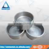99.95% Purity Tungsten sintering/forging large volume tungsten crucible for sapphire crystal growing furnace