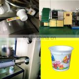 Six color plastic cup printing machine,curved offset surface printing machine,bowl printing machine