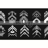 New arrival nail stamping plates Various Designs optional stamp template Nail Art Image stamper Plates