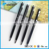 Cheap thin custom hotel pen stainless steel ball pen promotional cheap pens with logo