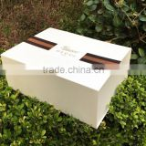 Stamping, Embossing, Glossy Lamination printing handling and recycled feature cardboard box for gift packaging