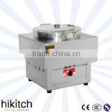 Stainless steel commercial LPG gas food boiler dim sum steamer