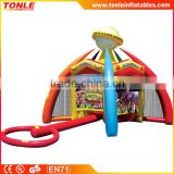 hot sale outdoor kids and adults inflatable carnival hammer game for sale
