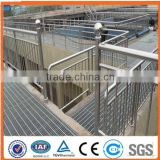China Supply G255/50/50 Galvanized Steel Grating used for Trench Cover and Stair (ISO certification)
