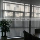 Transparent pvc vertical blind for office