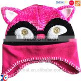 Hairwake Have third party testing Korea fashionable cheap knit animal hat baby hats