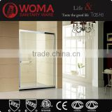 Bathroom glass jetted tub shower combo / walk in tub shower combo Y111