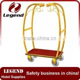 Good quality flexible lightweight used foldable luggage cart wheel