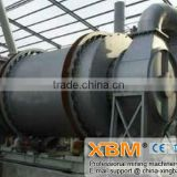 China triple drum dryer for drying blast furnace slag