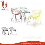 Modern Outdoor Office Metal Wire Chair Bikini Wire Chair