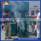High Quality Peanut Shell Charcoal Briquette Machine/Charcoal Rod Machine 0086 15238378335