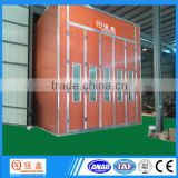 luxury short infrared heating bus paint booth with environmental system(professional factory,CE,ISO ,Trade Assurance)