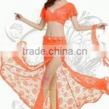New arrival fashion sexy belly dance dress,professional belly dance costume women bollywood tribal bellydance ballroom clothing