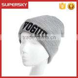 A-272 embroidery knitting wool hip pop hat custom fashion knitted hat beanie custom knitted beanie hat