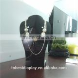 High quality acrylic jewelry display busts, jewelry necklace bust displays, bust jewelry neck display