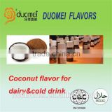 PG based coconut flavouring concentrate flavor for dairy&cold drink