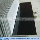 All size custom Shanxi black granite treads and risers granite stair tread