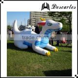 USA 3M long PVC inflatable replica water zenith dragon for outdoor events