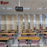 School functional used partition wall sliding door to create classroom