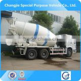 Factory sale new arrival top level customized sinotruk howo 6x4 10m3 concrete mixer truck for Laos