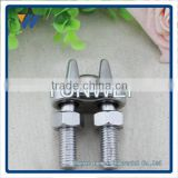 Non-Rust Zinc-Galvanized Steel Malleable Wire Rope Cable Clip Clamp - Choose From 6 Sizes Fist Wire Rope Clip
