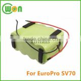 SV70 battery for Euro-Pro Shark SV670 battery replacement for Cordless Vacuum Cleaner