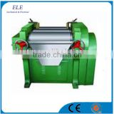 ink triple roll mill with hard alloy chilled rollers
