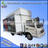 Guangzhou Leader Game hot selling truck mobile cinema trailer 5D 7D 9D 12D Cinema for sale
