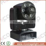 mini led light disco equipment spot and wash dmx moving head 30w