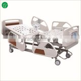 ICU hospital bed with handles, hydraulic medical hospital bed