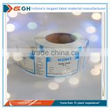 jumbo roll of synthetic paper labels on daily chemical and personal care industry