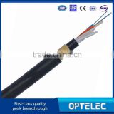 ADSS fiber optic cable for telecommunication ( 12 cores single mode fiber optic cable with 200m span)