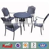 wrought iron garden furniture bistro set table and chairs wholesale