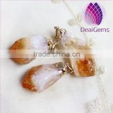 Natural rough citrine Pendant