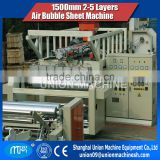 2 Layer Air Bubble Wrap Making Machine 1.5m 2m 3m with Laminator Chiller Schneider electronic