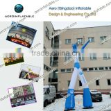 Sky Guys/Hot sale Air dancer / cheap air dancer/ Blue inflatable star / inflatable star/sky dancer