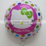 18 Inch Hello Kitty Rainbow Foil Mylar Balloon Hello Kitty Birthday Flower Balloon