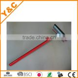 48x20cm wood, steel,sponge, rubber blade long handle window squeegee
