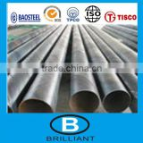 Tianjin factory 304L stainless steel pipe seamless/welded pipe price