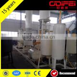 Plastic DTS latest used fuel oil filter machine waste tyre recycling plant tyre pyrolysis plant